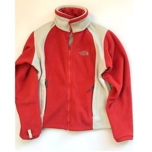 The north face women's fleece jacket size S